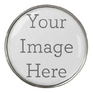 Sem quantidade mínima, livre circulante Amostra, Custom Die atingiu a liga de zinco/Latão Emoji Ferro/Hat Clip com marcador de esfera destacável para uso de golfe (026)