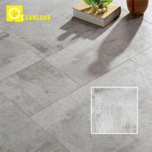 precio de fábrica de Foshan Diseño Moderno piso de baldosas de porcelana esmaltada de color gris