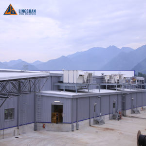 Alta calidad de elegante estructura de acero prefabricados edificio supermercado