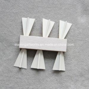 Weiße Stahlflugzeug-Form-Karten-Markierung Officemate Stoss-Stifte