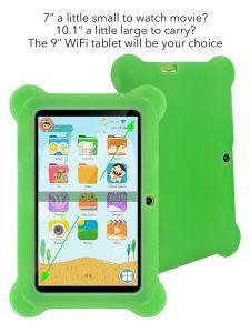 Образование детей в планшетный ПК Android4.4 Kitkat Quad Core8ГБ Очаровательный розовый быстро планшетный ПК