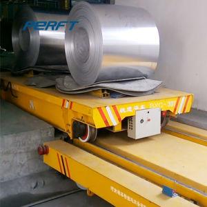 Un trasporto motorizzato bobina autoalimentato cavo da 25 tonnellate in acciaieria