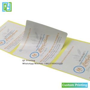Custom печать таблетки бачок напитки этикетки