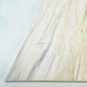 En Bois Blanc Salle de bains en marbre de grain pour la conception de mur et sol