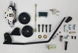 トヨタのフォークリフト制御弁の追加された部品