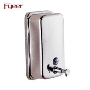 Alta Qualidade Fyeer 304 Dispensador de sabão em aço inoxidável