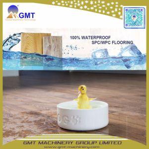 Macchina facile di plastica composita di pietra materiale dell'espulsore della pavimentazione di scatto di Spc della resina del PVC