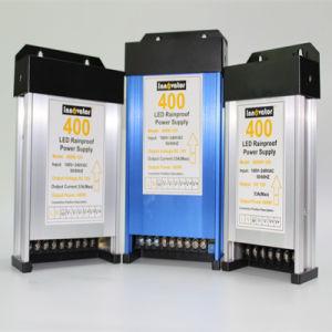 400W DC LED Rainproof Salida Única fuente de alimentación de luz LED, certificada por Ce RoHS