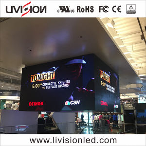 A tela de exibição de vídeo Indoo LED SMD Cores2121 LED de vídeo de alta qualidade na parede interior P3.9 bicicleta tela LED