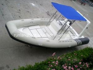 China fábrica de barco 6,8m/22 pies de la nervadura bote inflable rígido Rib Barco Barco de Pesca Deportiva