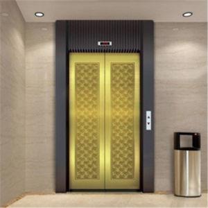 Los patrones de medida de alta calidad grado 201/304 grabados decorativos acabados Hoja de acero inoxidable de la puerta del elevador