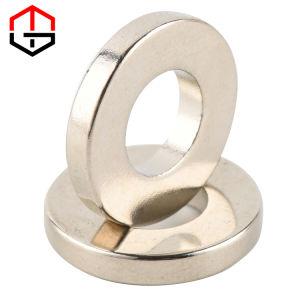 NdFeB N35 forte permanente de terras raras sinterizado magnetos em anel de neodímio para Eletrônica
