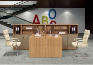Station de travail moderne en bois table bureau informatique