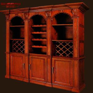 [إيوروبن] أسلوب أثر قديم عالة خشبيّة خمر من خزانة أثاث لازم ([غسب19-015])