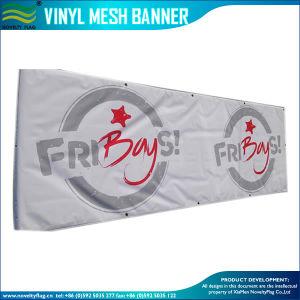 PVC屈曲のビニールの旗(J-NF26P07020)を広告する屋外の紫外線印刷