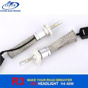 車Accessory Automobile Car Headlight Fog Light 40W 4800lm R3 LED Headlight Bulb H4