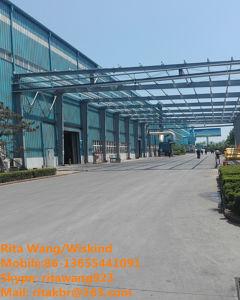 La construcción rápida de alta calidad de las aves de corral de estructura de acero, estructura de acero Prefabrciated Derramada