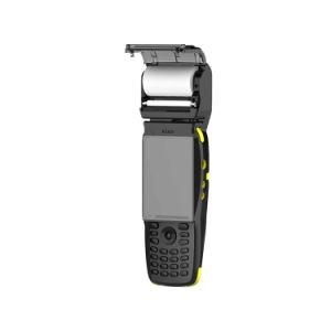 PDA Zkc3502 3G RFID NFC WiFi Android ordinateur de poche PDA avec imprimante thermique intégrée