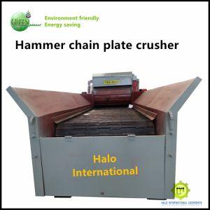 De grote Plastic Doos van de Fles trommelt Maalmachine van de Ontvezelmachine Shalf van de Pallet van Blokken de Houten Enige