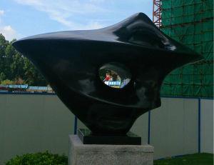 Jardín de esculturas abstractas de ornamento