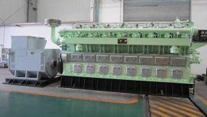 夕食セリウムが付いている低雑音の50/60のHz 1000kVAのディーゼル発電機セット