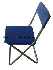 Presidenza di piegatura sottile del polietilene di buoni prezzi per la mobilia del giardino (LL-0021)