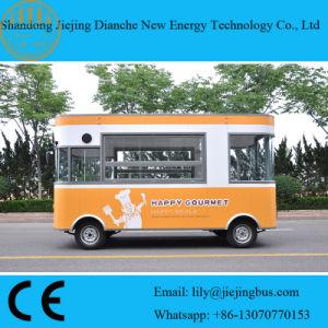 De mobiele Elektrische Auto van de Verkoop van Keukens met Gehele Kokende Apparatuur