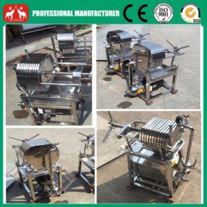 2016 La pequeña placa de acero inoxidable y bastidor de la máquina del filtro de aceite