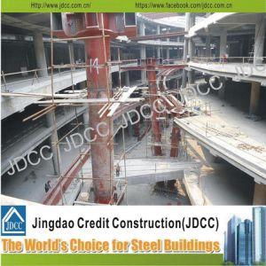多階のショッピングモールライト鉄骨構造の建物
