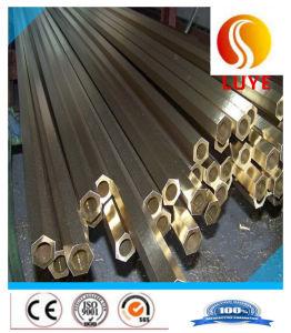 Tubo Redondo de aleación de latón de cobre tubo Hexgonal