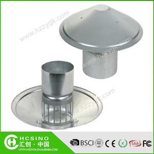 China galvanisierte runde Dach-Entlüftungsöffnungs-Stahlschutzkappen-wasserdichte Ventilations-Entlüftungsöffnungs-Rohr-Schutzkappe/wasserdichte Dach-Verkleidung