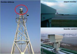 Électro-optique à longue portée PTZ Caméra de Surveillance d'imagerie thermique infrarouge