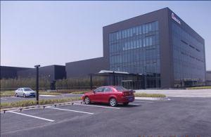 Edificio prefabricado de la estructura de acero (SSB-16074)