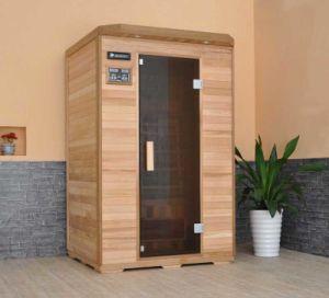 2 Personas Calefaccion De Carbon De La Cabina Sauna De Infrarrojos - Cabina-sauna