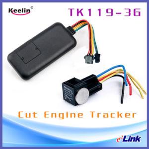 Fahrzeug 3G GPS-Auto-Verfolger-Stützeinstellung schnitt Öl entfernt Tk119-3G ab