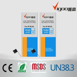 Bateria de telefone celular para iPhone 5s 5c