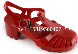 PVC Mesdames sandale
