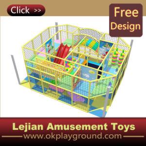 Campo de jogos interno macio das crianças extravagantes para divertido (ST1403-3)