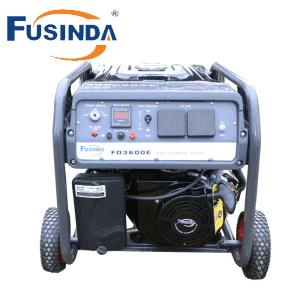 セリウムが付いているFusinda 3700のポータブルのガソリンまたはガソリン発電機