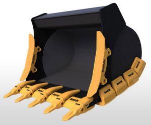 Liebherrの掘削機のための角の摩耗の靴