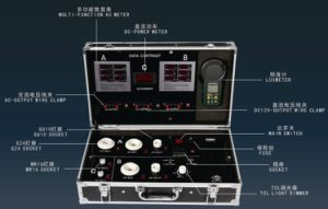 LED-Birnen-Gefäß-Punkt-Licht-Prüfungs-Demoportable-Kasten