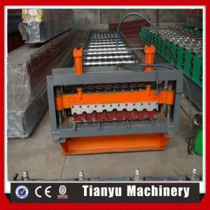 certificat CE feuille métallique du panneau de toiture Cold machine à profiler C20