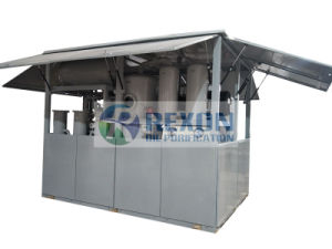 Sistema de regeneración de aceite de aislamiento de vacío con material de gel de sílice de la capacidad 18000LPH