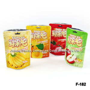 Bottom Gusset를 가진 Food Packaging Pouch를 위로 서 있으십시오