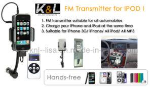 Transmisor FM Cargador de coche Kit (KL-FT10A)