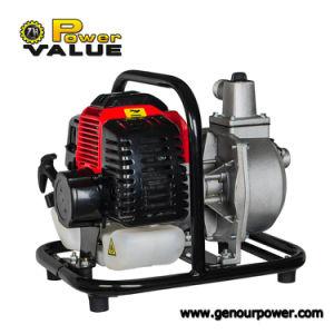Valeur de puissance best-seller Mini 1 pouce de la pompe à eau de l'essence 1HP
