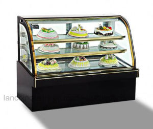 Bolo de alta qualidade Exibir / Resfriador de bolo comercial de luxo frigorífico