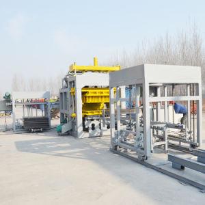 O Qt10-15 Full automatic Cement/Concreto/Bloco Oco/máquina para fabricação de tijolos de areia para o comércio por grosso
