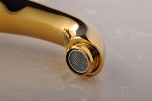 Rubinetto di vasca da bagno di PCS del rubinetto 3 del bagno della manopola di Dule della stanza da bagno (Q30203G)