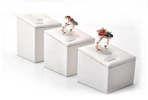 Basamento acrilico di legno di mostra della vigilanza del fornitore del banco di mostra dei monili (Ys60)